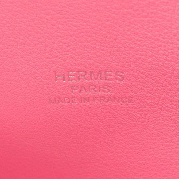 エルメス ハンドバッグ ボリード25 1923 ピンク/シルバー金具 ヴォーエプソン Z刻印 HERMES ショルダーバッグ
