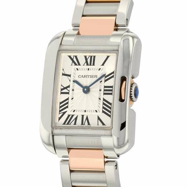 カルティエ タンクアングレーズ SM W5310046 Cartier 腕時計 レディース