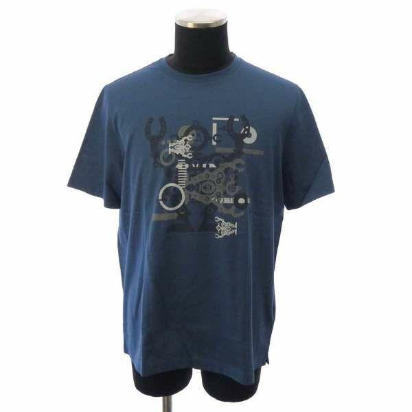 エルメス Tシャツ ハローミスターファリエール メンズサイズL HERMES アパレル 服 トップス 半袖