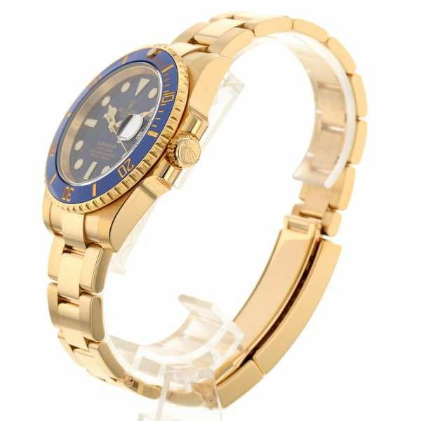 ロレックス サブマリーナ デイト K18YGイエローゴールド ランダムシリアル ルーレット 116618LB ROKEX 腕時計 コンビ