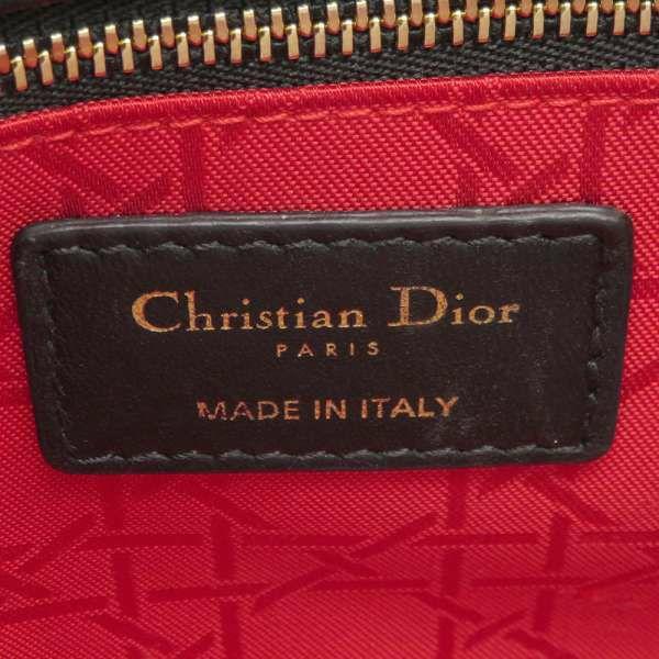 クリスチャン・ディオール ハンドバッグ マイレディディオール カナージュ M05380CAL Christian Dior バッグ 2wayショルダーバッグ 黒