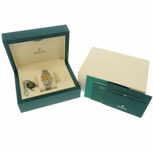 ロレックス オイスターパーペチュアル 31 ランダムシリアル ルーレット 277200 ROLEX 腕時計 レディース イエロー文字盤