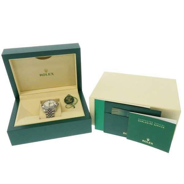ロレックス デイトジャスト41 ランダムシリアル ルーレット 126300 ROLEX 腕時計 白文字盤
