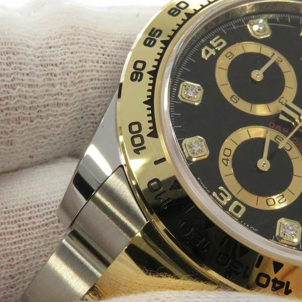 ロレックス コスモグラフ デイトナ SS/K18イエローゴールド ランダムシリアル ルーレット 116503G ROLEX 腕時計 黒文字盤 2021年新作