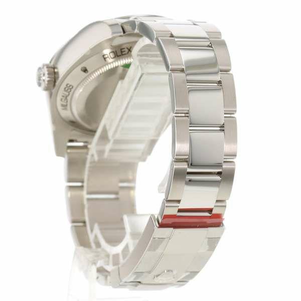 ロレックス ミルガウス グリーンガラス ランダムシリアル ルーレット 116400GV ROLEX 腕時計 Zブルー文字盤
