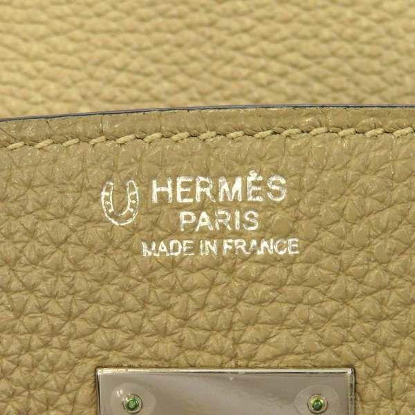 エルメス バーキン30 トゥルティエールグレー/ブルーインディゴ/シルバー金具 トゴ □N刻印 HERMES Birkin ハンドバッグ スペシャルオーダー SPO