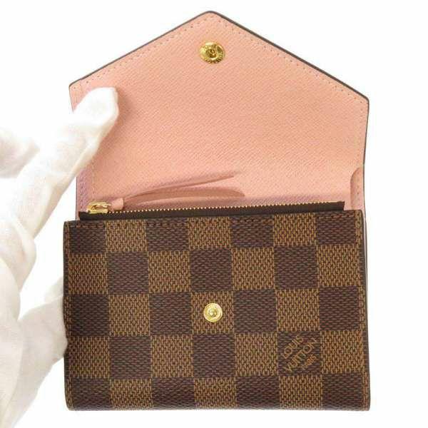 ルイヴィトン 三つ折り財布 ダミエ ポルトフォイユ・ヴィクトリーヌ N61700 LOUIS VUITTON ヴィトン 財布
