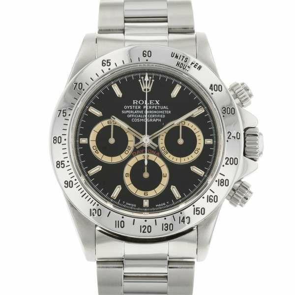 ロレックス コスモグラフ デイトナ S番 16520 ROLEX 腕時計 ウォッチ 黒文字盤 ブラウンアイ