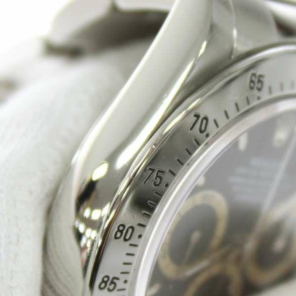 ロレックス コスモグラフ デイトナ S番 16520 ROLEX 腕時計 ウォッチ 黒文字盤 ブラウンアイ 安心保証