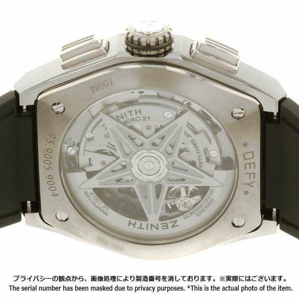 ゼニス デファイ エルプリメロ 95.9005.9004/01.R782 ZENITH 腕時計