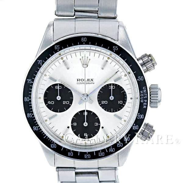 ロレックス コスモグラフ デイトナ 12番 6240 2ライン シルバー文字盤 ROLEX 腕時計 アンティーク 安心保証