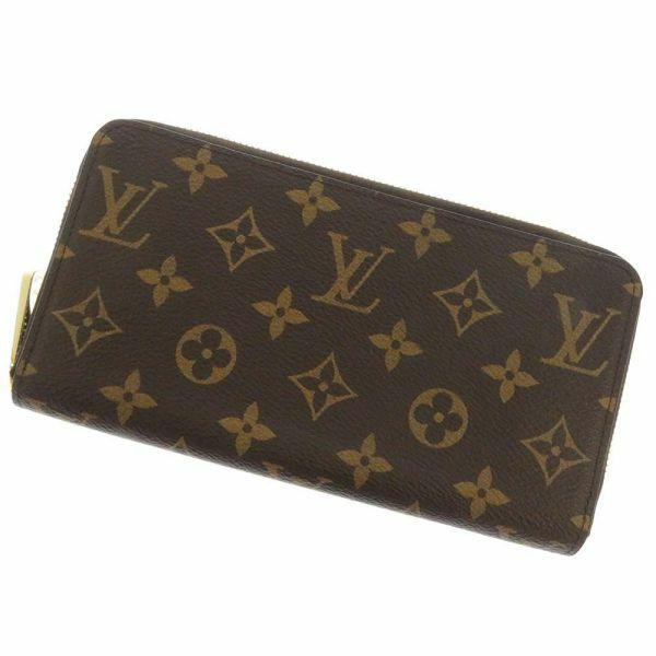 ルイヴィトン 長財布 モノグラム ジッピー・ウォレット M42616 LOUIS VUITTON ヴィトン 財布