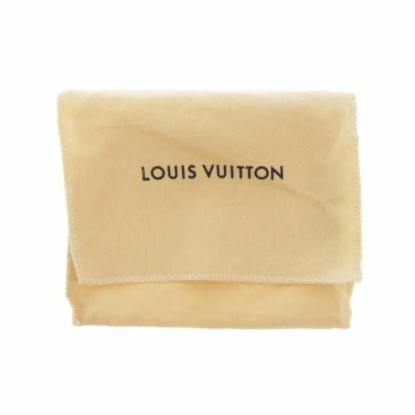 ルイヴィトン 財布 モノグラム マヒナ ポルトフォイユ・イリス XS M67498 LOUIS VUITTON ヴィトン 三つ折り 黒
