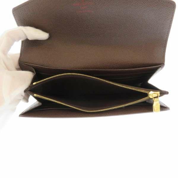 ルイヴィトン 長財布 ダミエ ポルトフォイユ・サラ N63209 LOUIS VUITTON ヴィトン 財布 安心保証