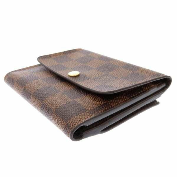 ルイヴィトン 財布 ダミエ ポルトフォイユ・アナイス N63242 LOUIS VUITTON ヴィトン 三つ折り財布 安心保証