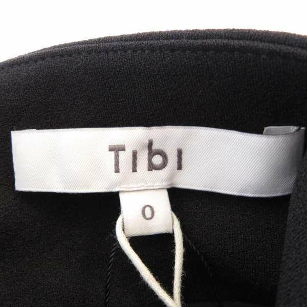 ティビ ドレストップス ノースリーブ スタンドカラー レディースサイズ0 Tibi 服 アパレル トップス 黒