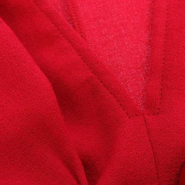 エルメス トップス セリエボタン ドルマンスリーブ レディースサイズ40 HERMES 服 アパレル 赤