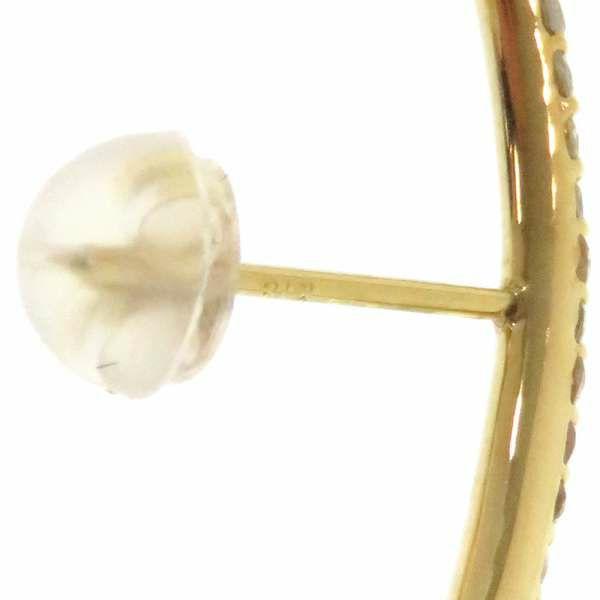 ロング ピアス ダイヤモンド計0.5ct K18YGイエローゴールド ジュエリー アクセサリー ダイアモンド