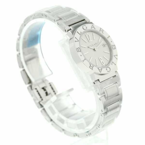 ブルガリ ブルガリブルガリ 白文字盤 BB26WSSD BVLGARI 腕時計 クォーツ レディース