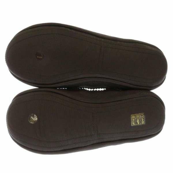 エルメス ルームシューズ ロングニット メンズサイズL HERMES 靴