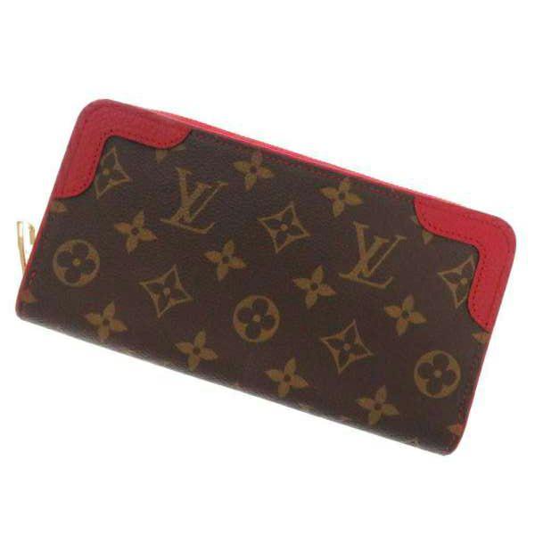 ルイヴィトン 長財布 モノグラム ジッピーウォレット レティーロ M61854 LOUIS VUITTON ヴィトン 財布