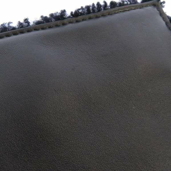 フェンディ ハンドバッグ マンマバケット マルチカラー 8BR771 FENDI バッグ 2wayショルダーバッグ フラワー 黒