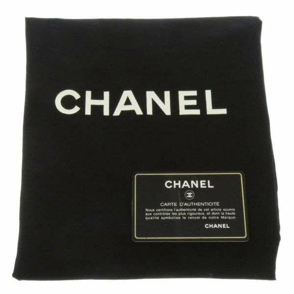 シャネル タッセル ショルダーバッグ ブラック CHANEL 黒 バッグ