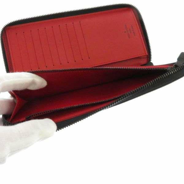 ルイヴィトン 長財布 ダミエ・グラフィット ユーティリティ・ジッピーウォレット ヴェルティカル N60355 LOUIS VUITTON ヴィトン 財布 メンズ