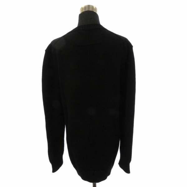 ジバンシー セーター ニット 長袖 ロゴ バイカラー レディースサイズXS GIVENCHY 服 アパレル トップス 黒