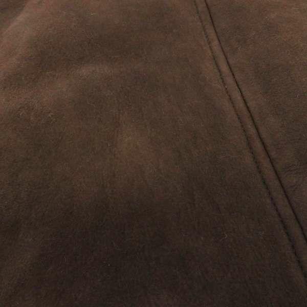 エルメス ジャケット ノースリーブ ブラウン ラムレザー レディースサイズ38 HERMES アウター アパレル
