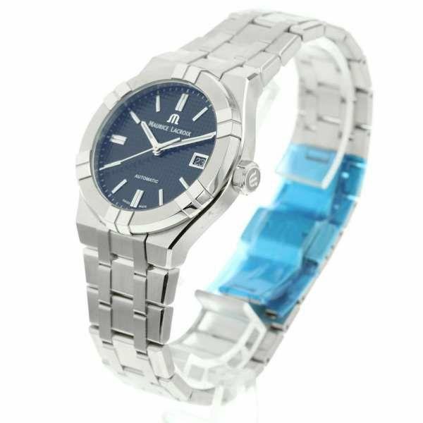 モーリスラクロア アイコン オートマティック39 AI6007-SS002-330-1 MAURICE LACROIX 腕時計 黒文字盤