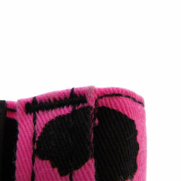 グッチ パンツ レオパード レディースサイズ27インチ 502797 GUCCI 服 アパレル ボトムス ヒョウ柄 ピンク