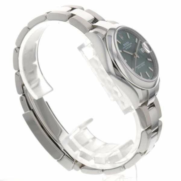 ロレックス レディ デイトジャスト 31 ランダムシリアル ルーレット 278240 ROLEX 腕時計 レディース グリーン文字盤 2020年新作