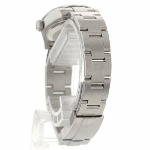 ロレックス オイスター パーペチュアル 26 黒文字盤 ランダムシリアル ルーレット 176200 ROLEX 腕時計
