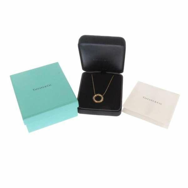 ティファニー ネックレス T ダイヤモンド サークル ペンダント ダイヤモンド 0.10ct K18PGピンクゴールド 62996099 Tiffany&Co. ジュエリー ダイアモンド