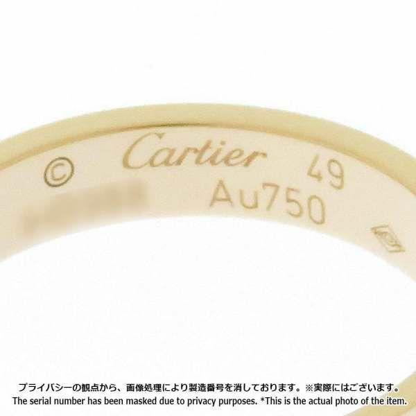 カルティエ リング ミニラブリング K18PGピンクゴールド リングサイズ49 B4085200 B4085249 Cartier ジュエリー 指輪