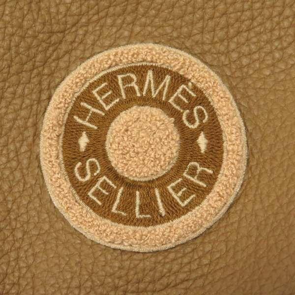 エルメス コート バーシティ Varsity カシミヤ レディースサイズ34 HERMES 服 アウター ベージュ