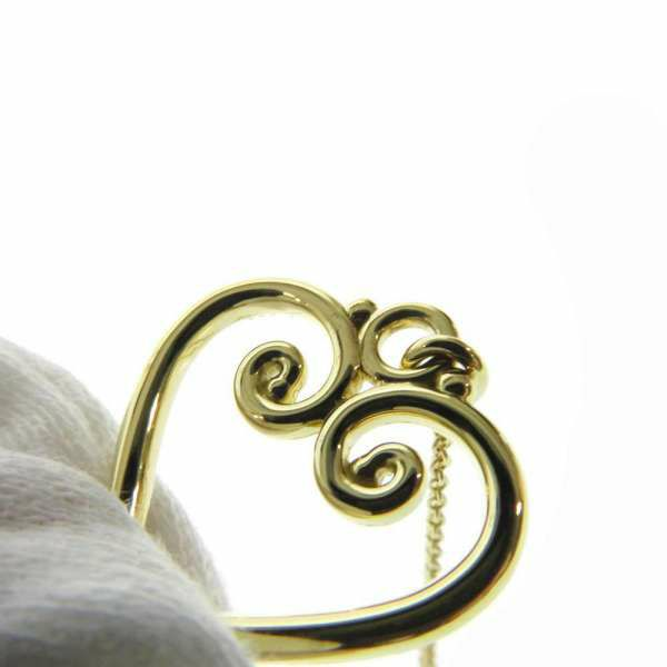 ティファニー ネックレス  パロマピカソ ヴェネチア ゴルドーニ ハートモチーフ パヴェダイヤ K18YGイエローゴールド Tiffany&Co. ジュエリー アクセサリー