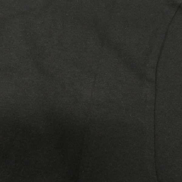モンクレール 半袖Tシャツ プリント フラグメント メンズサイズM MONCLER トップス 黒 藤原ヒロシ