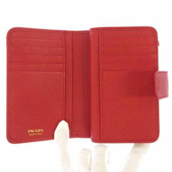 プラダ 二つ折り財布 サフィアーノ SAFFIANO 1ML225 PRADA 財布 L字ファスナー