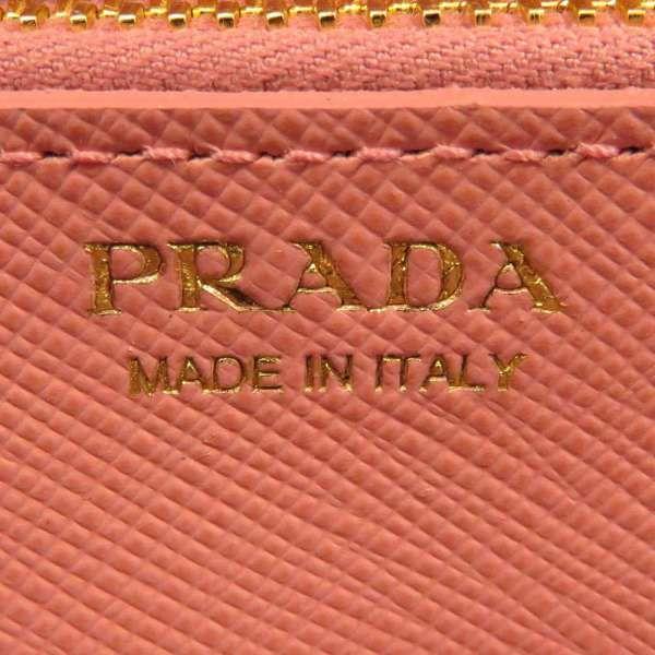 プラダ 長財布 サフィアーノ SAFFIANO ピンク 1MH132 PRADA 財布 カードケース付き