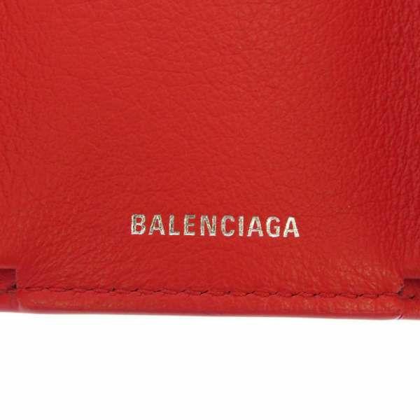 バレンシアガ 三つ折り財布 ペーパーミニウォレット 391446 BALENCIAGA 財布 折りたたみ コンパクトウォレット