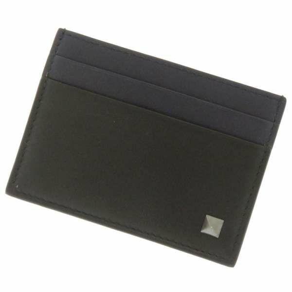 ヴァレンティノ・ガラヴァーニ カードケース NY2P0682VB2 VALENTINO パスケース 名刺入れ メンズ 黒